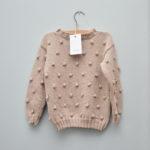 Sweterek_bobble_beż